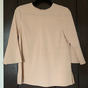 Zara Top with 3/4 Bell Sleeves | XS